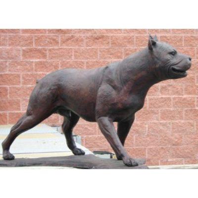 Umelecké Sochy Americký pitbull