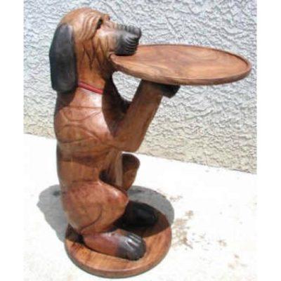Umelecké Sochy Pes stojan