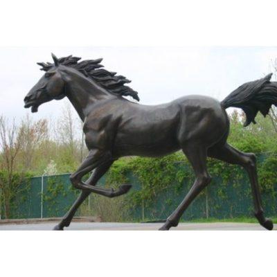 Umelecké Sochy Bežiaci kôň