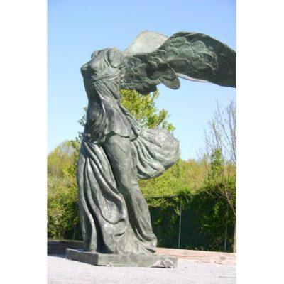 Umelecké Sochy Okrídlené víťazstvo Samothrace
