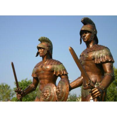 Umelecké Sochy Sparťanskí, trójski, rímski, grécki vojaci
