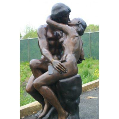 Umelecké Sochy Veľká socha bozkávanie