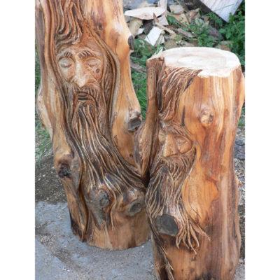 Umelecké Sochy Drevená duša stromov