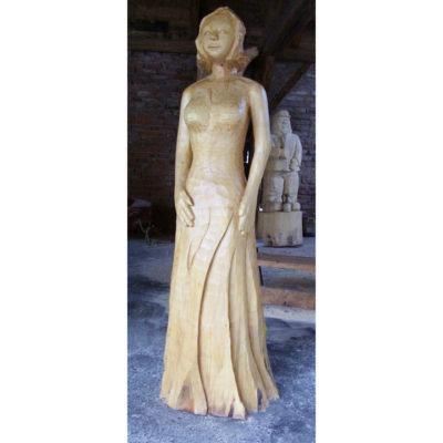 Umelecké Sochy Drevená socha Jozefíny