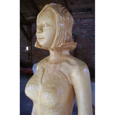 Drevená Jozefína - socha z dreva