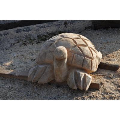 Umelecké Sochy Drevená korytnačka