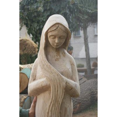 Umelecké Sochy Drevená panna II