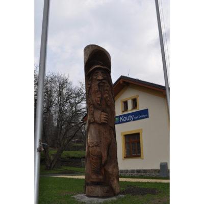 Umelecké Sochy Veľká socha pradeda
