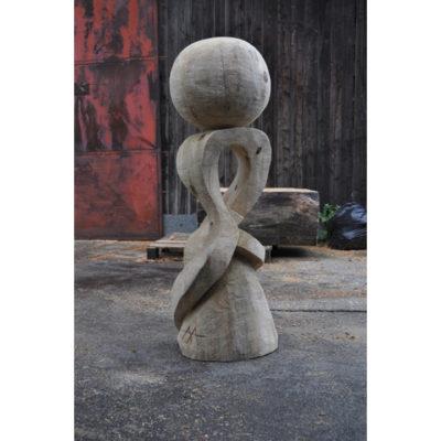 Socha túžba - socha z dreva