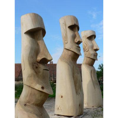 Umelecké Sochy Drevené sochy Moai
