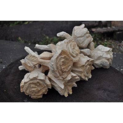Umelecké Sochy Drevené ruže