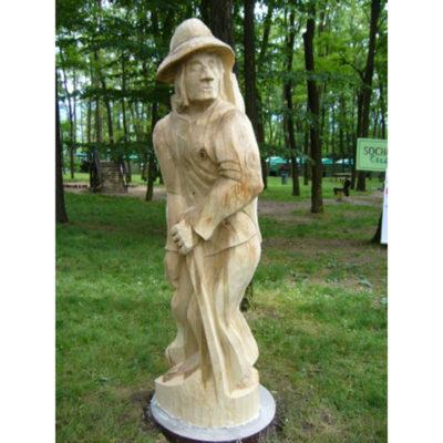 Umelecké Sochy Drotár  - záhradná drevená socha