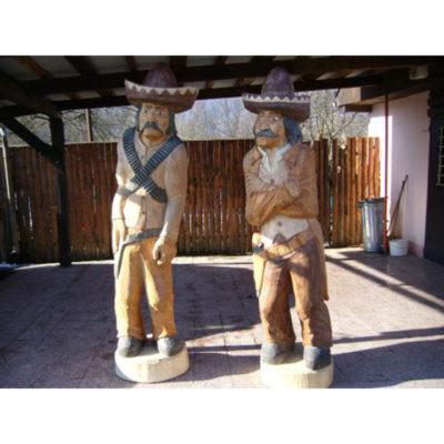 Umelecké Sochy Mexičan, Kovboj