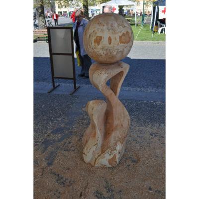 Nádej - socha z dreva