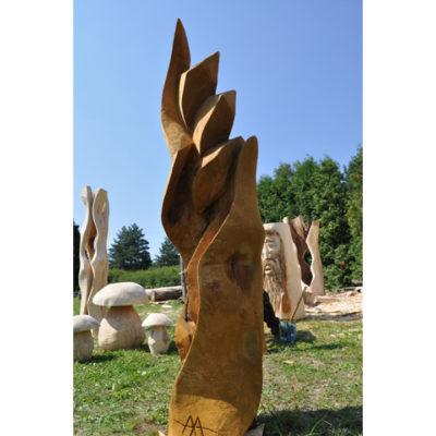 Umelecké Sochy Pokora - záhradna drevená skluptura