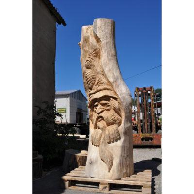 Umelecké Sochy Drevený škriatok Stromofúz II