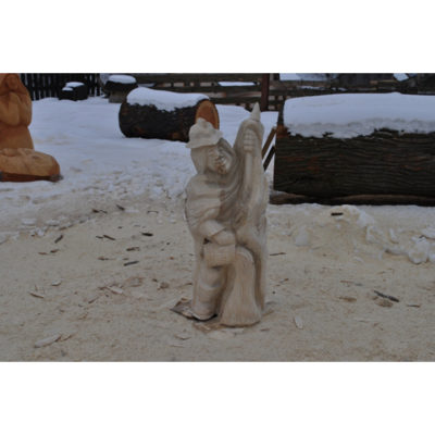 Svätý Florián - socha z dreva