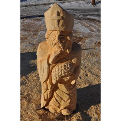 Umelecké Sochy Svätý Urban II - drevená socha