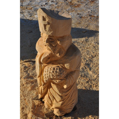 Svätý Urban II - socha z dreva