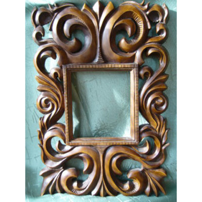 Umelecké Sochy Zrkadlo s ornamentmi