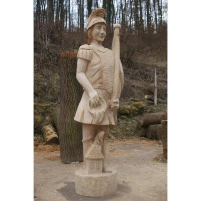 Umelecké Sochy Florián - drevená socha