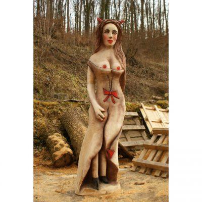 Umelecké Sochy Čertova žena